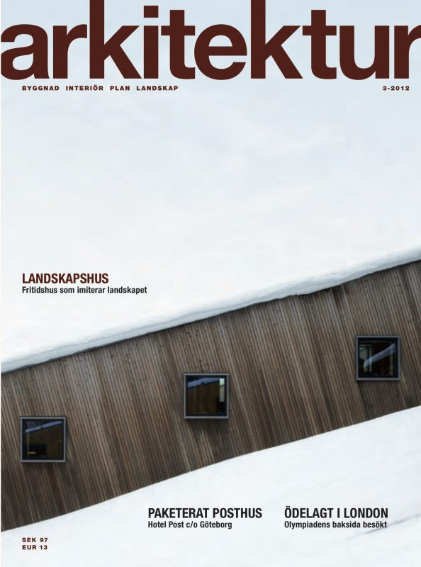 Arkitektur nr 3 2012