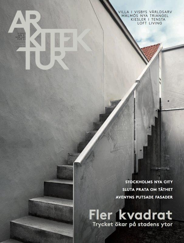 Arkitektur nr 3 2015