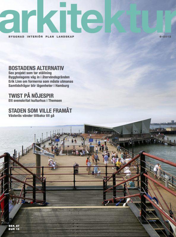 SLUTSÅLD: Arkitektur nr 6 2012