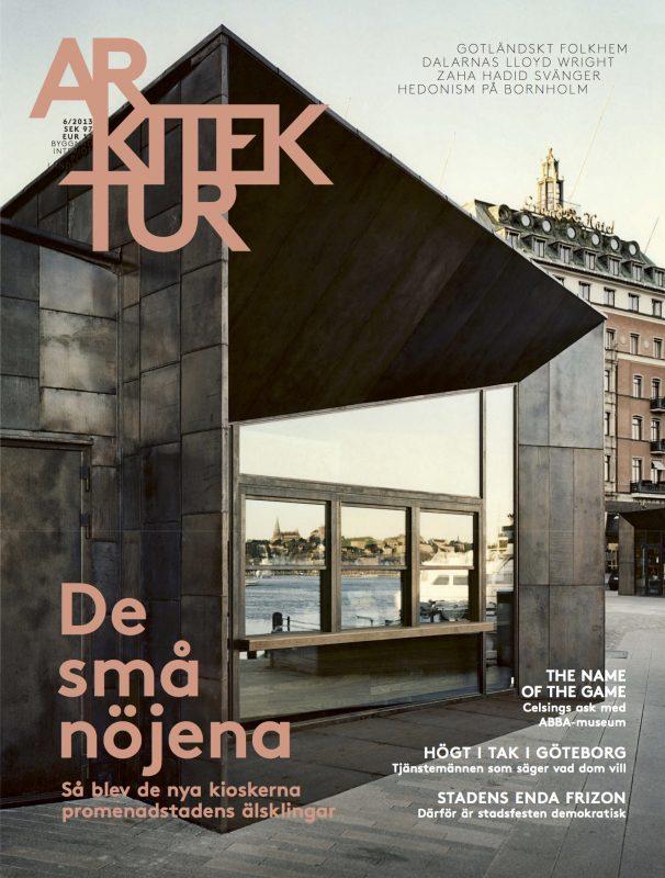 Arkitektur nr 6 2013