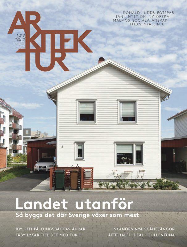 Arkitektur nr 6 2015