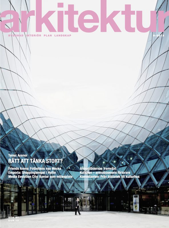 Arkitektur nr 8 2012