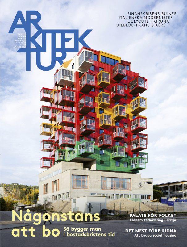 SLUTSÅLD: Arkitektur nr 8 2013