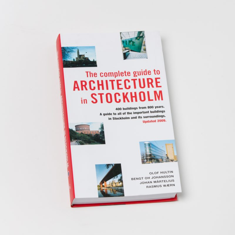 SLUTSÅLD: The Complete Guide to Architecture in Stockholm
