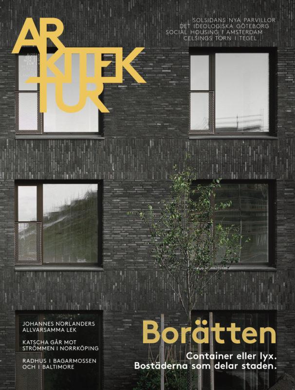 Arkitektur nr 8 2016
