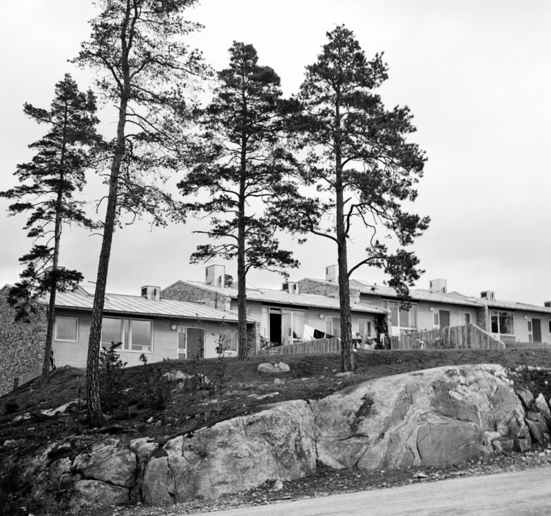 Radhusområdet Atlantis i Vällingby