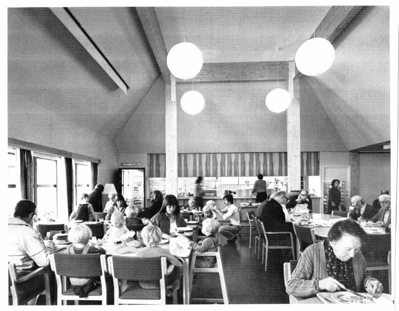 Gemensam matsal i kvarteret Stolplyckan i Linköping. Foto: Sune Sundahl