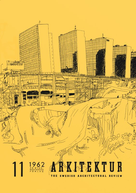 Arkitektur nr 11 1962