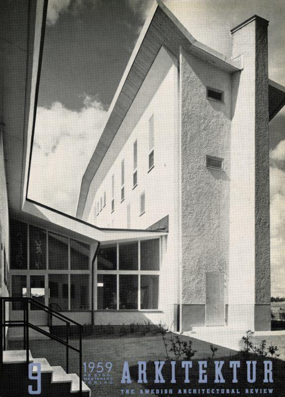 Arkitektur nr 9/1959