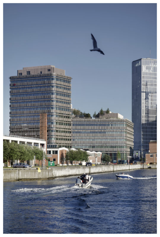 Malmö högskolas byggnad Niagara av Lundgaard & Tranberg Arkitekter. Foto: Jens Lindhe