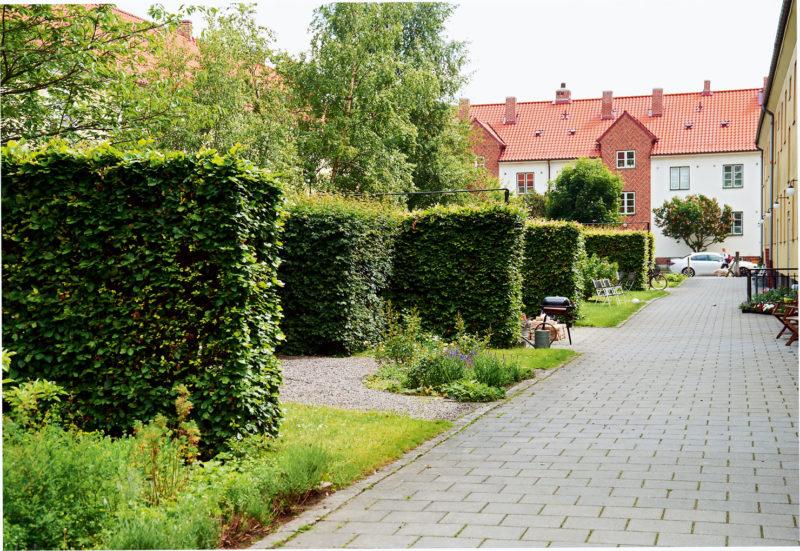 Storgårdskvarter med trädgårdskaraktär. Västra Sorgenfri, Malmö 1930-tal. Foto: Ole Jais