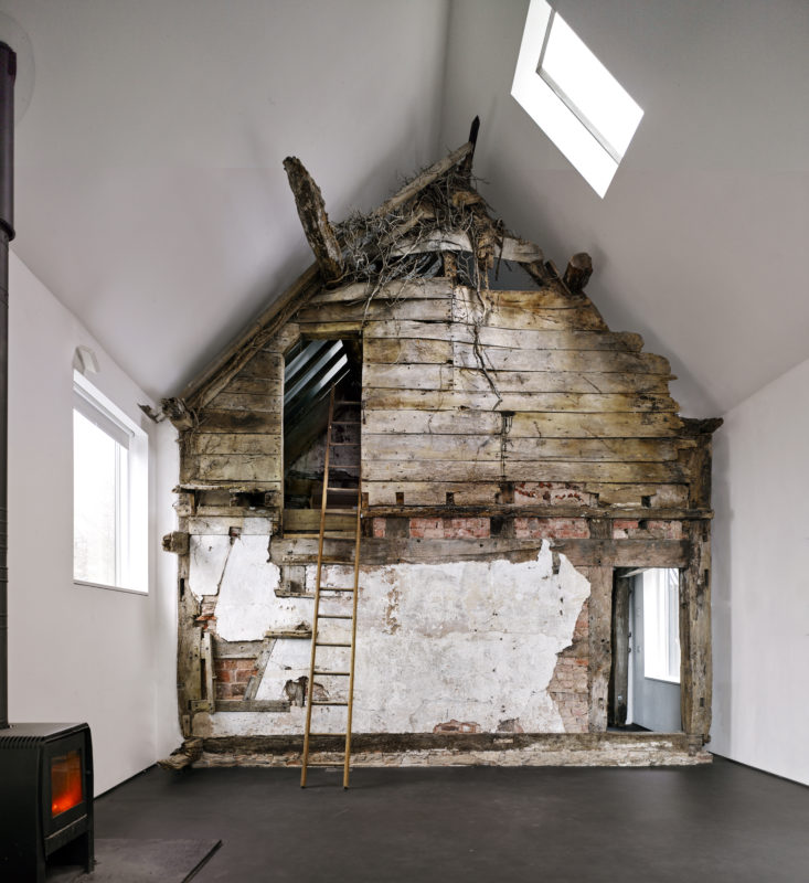 Croft Lodge Studio i Herefordshire, England. Av Kate Darby och David Connor. Foto: James Morris