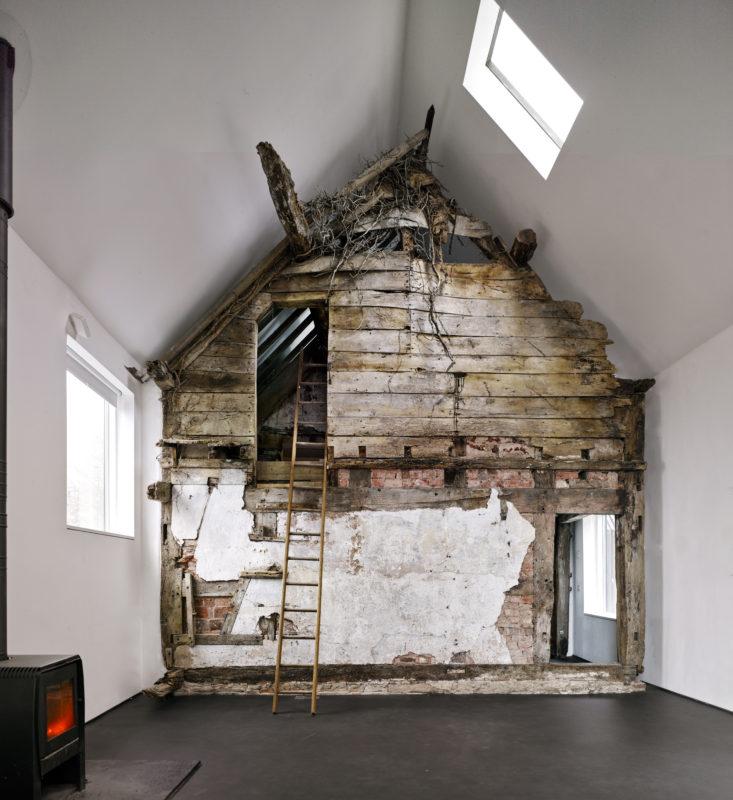 Croft Lodge Studio i Herefordshire, England. Av Kate Darby och David Connor. Foto: James Morris