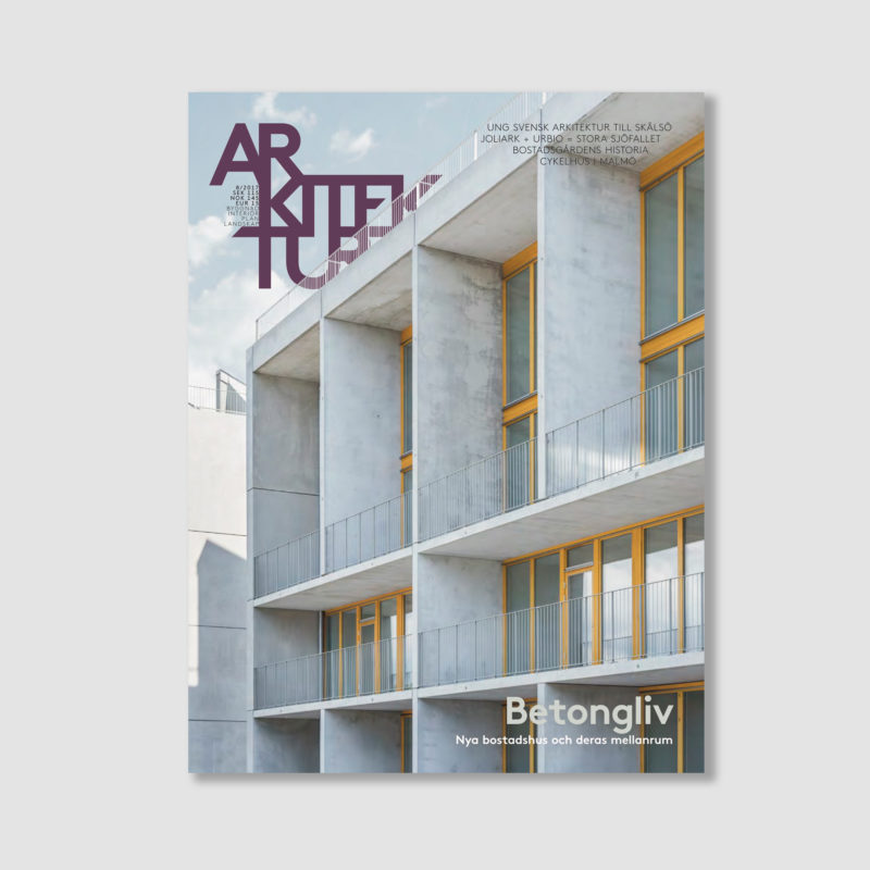 Arkitektur nr 8 2017