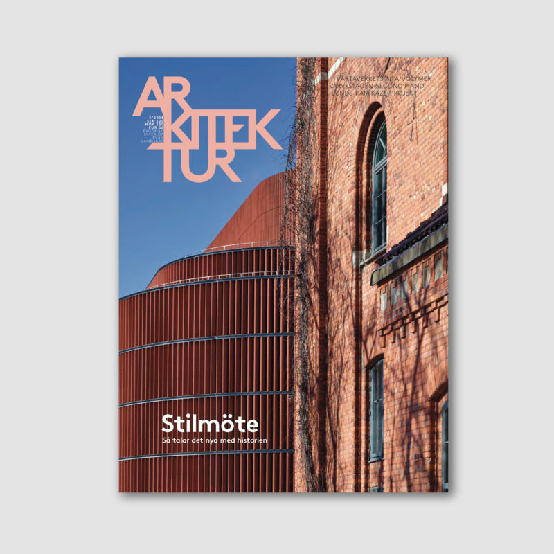 SLUTSÅLD: Arkitektur nr 3 2018