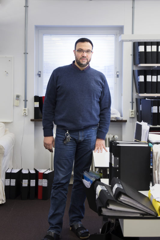 Hussam El Taliawe på Redovisningskontoret i Malmö AB, Norra Grängesbergsgatan.