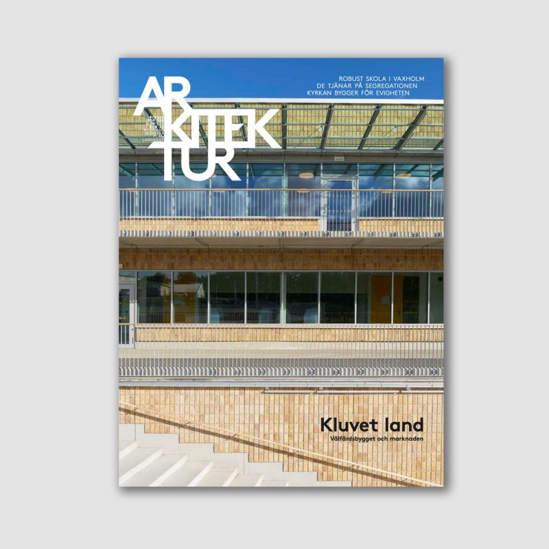 Arkitektur nr 4 2018