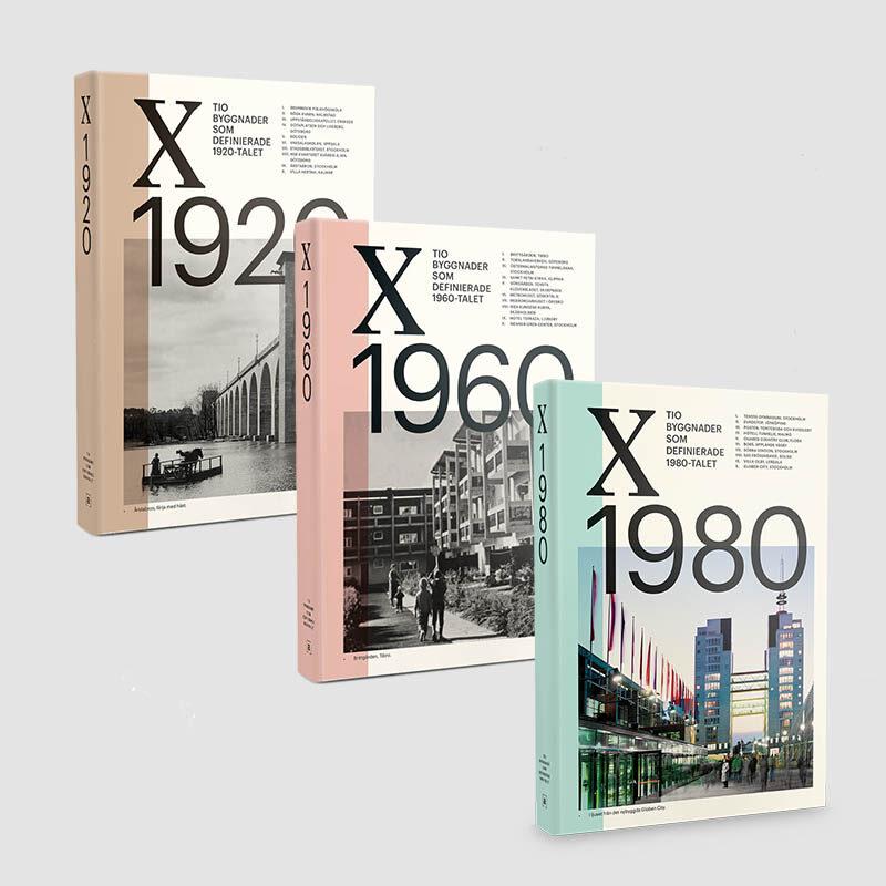 Paketerbjudande: Tio byggnader x 3